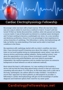Cardiac Electrophysiology Fellowship