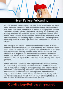 Heart Failure Fellowship
