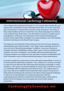 Interventional Cardiology Fellowship