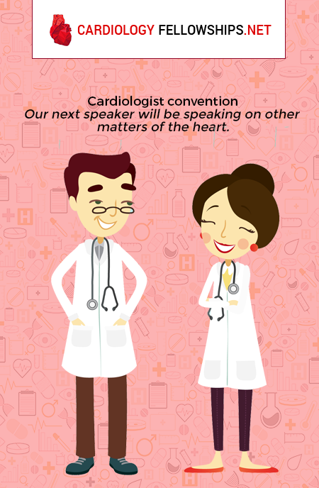 being a cardiologist